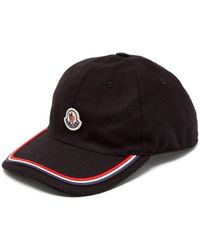 Moncler - Logo Embroidered Cap - Lyst