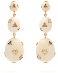 Bibi Van Der Velden - Pop Art Eggs Earrings - Lyst