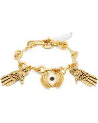 Chloé - Eye And Hand-charm Bracelet - Lyst