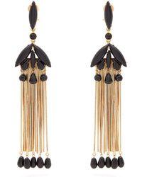 Etro - Beaded Tassel Earrings - Lyst