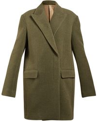 The Row - Mewey Oversized Wool Blend Coat - Lyst