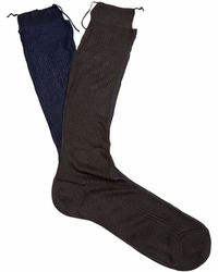 Raey - Frankenstein Silk Socks - Lyst