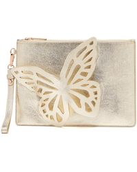 Sophia Webster - Flossy Leather Clutch - Lyst