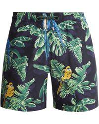 Stella McCartney - Parrot Print Swim Shorts - Lyst