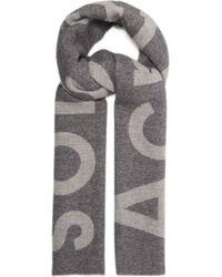 Lyst - Écharpe à carreaux en laine imprimée Acne Studios pour homme ... 5317f1d3da8
