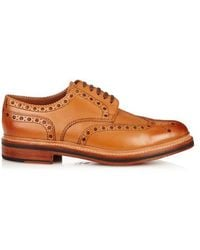 Grenson - Archie Leather Brogues - Lyst