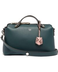 2dedb374a065 Fendi - By The Way Leather And Ayers Cross Body Bag - Lyst