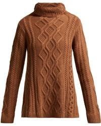 Queene And Belle - Hester Cable-knit Cashmere Sweater - Lyst