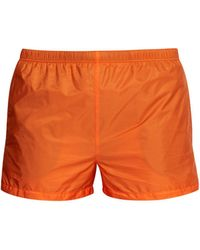 9c23dee31a Prada - Nylon Swim Shorts - Lyst