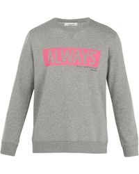 Valentino - Always-print Cotton-blend Sweatshirt - Lyst