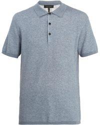 Rag & Bone - Tripp Cotton-blend Polo Shirt - Lyst
