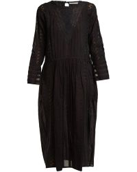 Queene And Belle - Abigail Lace-detailed Sheer Cotton Dress - Lyst