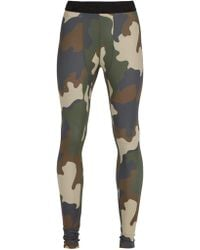 The Upside - Camouflage Print Performance Leggings - Lyst