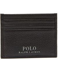 Polo Ralph Lauren - Textured Leather Cardholder - Lyst