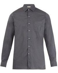 Massimo Alba - Point-collar Fine-cotton Shirt - Lyst
