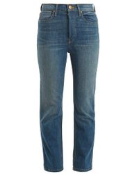 The Great - The Straight A High-rise Jeans - Lyst