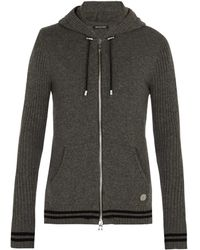 Balmain - Zip-through Cashmere Jumper - Lyst