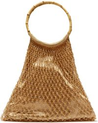 MY BEACHY SIDE - Aphrodite Bamboo Handle Beaded Crochet Bag - Lyst