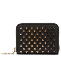 Christian Louboutin - Panettone Zip-around Leather Coin Purse - Lyst