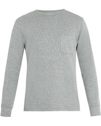 Saturdays NYC | James Long-sleeved Cotton-blend T-shirt | Lyst