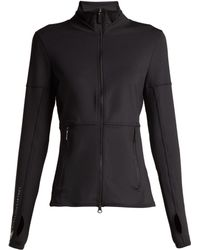 afc3010948a4 adidas By Stella McCartney - Performance Essentials Mid Layer Jacket - Lyst