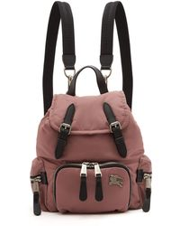 Burberry - Small Backpack - Lyst