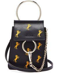 Chloé - Faye Mini Little Horses Embroidered Bag - Lyst