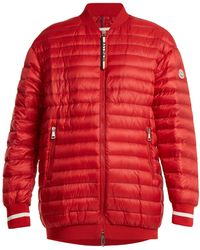 Moncler - Charoite Quilted Down Bomber Jacket - Lyst