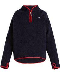 Martine Rose - High-neck Oversized Wool-blend Sweatshirt - Lyst