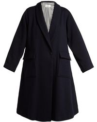 Chimala - Single Breasted Wool Coat - Lyst