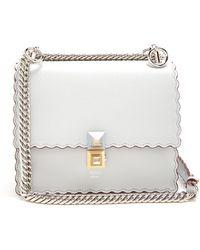 Fendi - Kan I Small Leather Cross Body Bag - Lyst