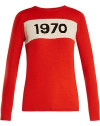 Bella Freud - 1970 Intarsia Sweater - Lyst