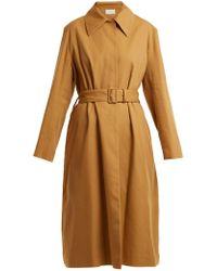 The Row - Rundi Panama Linen Trench Coat - Lyst