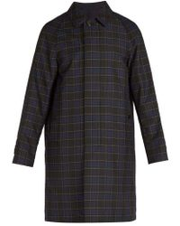Burberry - Reversible Checked Car Coat - Lyst