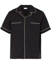 Saturdays NYC - Cameron Short Sleeved Bowling Shirt - Lyst
