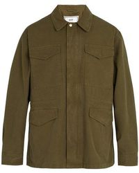 AMI - Military Cotton Parka - Lyst