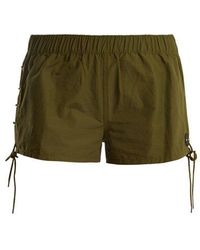The Upside - Fiesta Cotton-blend Shorts - Lyst