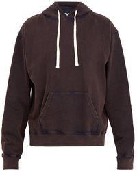 JW Anderson - Hooded Cotton Sweatshirt - Lyst