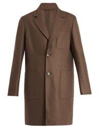 Berluti - Patch Pocket Cashmere Coat - Lyst