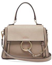 Chloé - Faye Leather Bag - Lyst