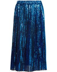 N°21 | Sequin-embellished Pleated Skirt | Lyst