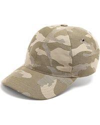 A.P.C. | Alex Camouflage-jacquard Cap | Lyst