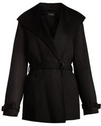 JOSEPH - Lima Wrap Wool And Cashmere-blend Coat - Lyst