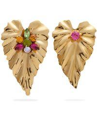 Rodarte | Gold-plated Mismatch Earrings | Lyst