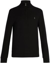 Polo Ralph Lauren - Logo-embroidered Cotton Jumper - Lyst