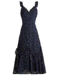 Rebecca Taylor - Adriana Broderie-anglaise Dress - Lyst