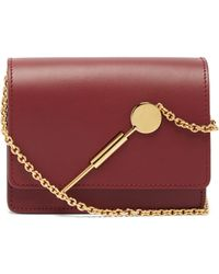Sophie Hulme - Micro Leather Cross Body Bag - Lyst