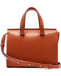 Aesther Ekme - Mini Barrel Leather Cross-body Bag - Lyst