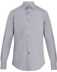 Lanvin - Single-cuff Cotton Shirt - Lyst
