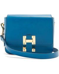 Sophie Hulme - - Small Quick Cross Body Bag - Womens - Blue - Lyst